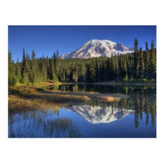 WA, Mt. Rainier National Park, Mt. Rainier Postcard