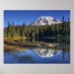 WA, Mt. Rainier National Park, Mt. Rainier Poster