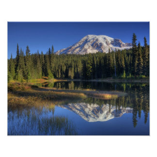 WA, Mt. Rainier National Park, Mt. Rainier Poster