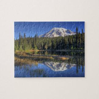 WA, Mt. Rainier National Park, Mt. Rainier Puzzles