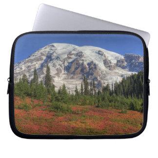 WA, Mt. Rainier National Park, Paradise Valley Computer Sleeves