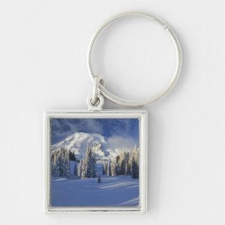 WA, Mt. Rainier NP, Mt. Rainier and Paradise Key Ring