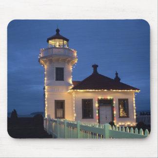 WA, Mukilteo, Mukilteo Lighthouse, established Mouse Mat