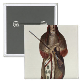 Wa-Na-Ta or 'The Charger', Grand Chief 15 Cm Square Badge