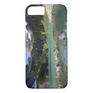 WA, Okanogan NF, Lewis Lake and Black Peak iPhone 8/7 Case