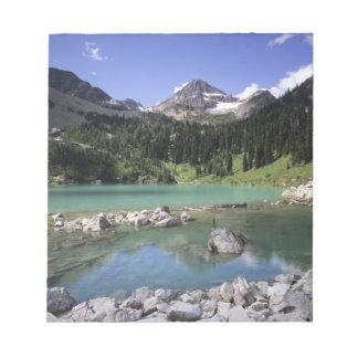WA, Okanogan NF, Lewis Lake and Black Peak Notepad