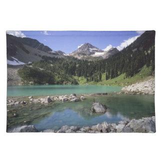 WA, Okanogan NF, Lewis Lake and Black Peak Placemat