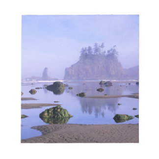 WA, Olympic National Park, Second Beach, Notepad
