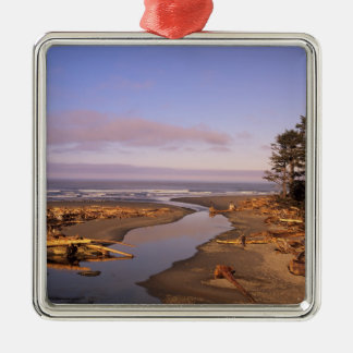 WA, Olympic NP, Kalaloch Beach and Kalaloch Christmas Ornament