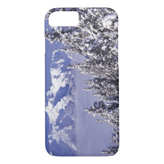WA, Olympic NP, Olympic Mountain Range, view iPhone 8/7 Case