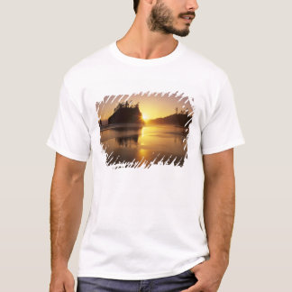 WA, Olympic NP, Second Beach at sunset T-Shirt