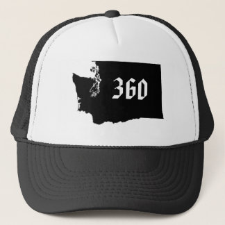 wa_outline, 360 trucker hat