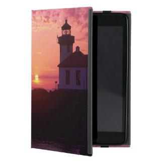 WA, San Juan Island, Lime Kiln Lighthouse, 1919, iPad Mini Cover