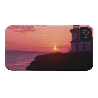 WA, San Juan Island, Lime Kiln Lighthouse, 1919, iPhone 4 Case-Mate Cases