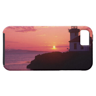 WA, San Juan Island, Lime Kiln Lighthouse, 1919, iPhone 5 Covers