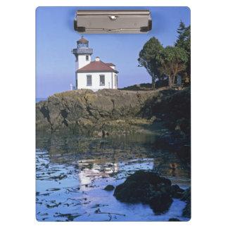 WA, San Juan Island, Lime Kiln lighthouse Clipboard