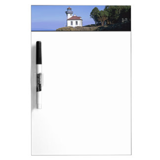WA, San Juan Island, Lime Kiln lighthouse Dry Erase Board