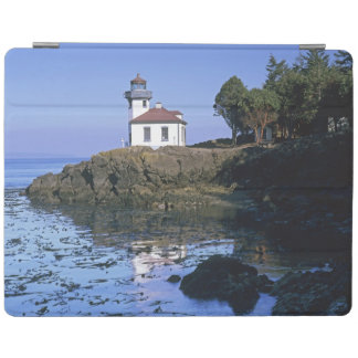 WA, San Juan Island, Lime Kiln lighthouse iPad Cover