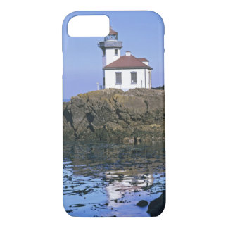 WA, San Juan Island, Lime Kiln lighthouse iPhone 8/7 Case