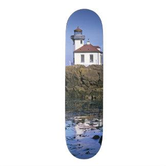 WA, San Juan Island, Lime Kiln lighthouse Custom Skateboard