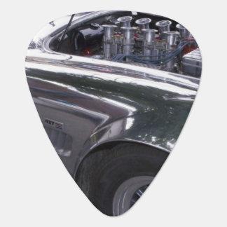 WA, Seattle, classic American automobile. 2 Guitar Pick