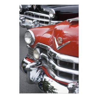 WA, Seattle, classic American automobile. 2 Photo Art