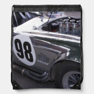 WA, Seattle, classic American automobile. 2 Backpack