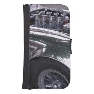 WA, Seattle, classic American automobile. 2 Samsung S4 Wallet Case