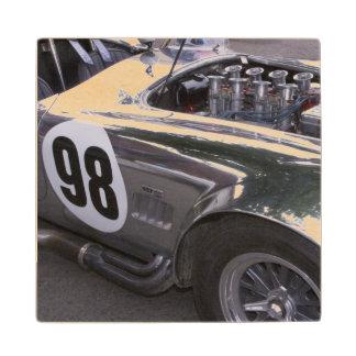 WA, Seattle, classic American automobile. 2 Wood Coaster