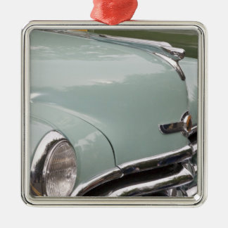 WA, Seattle, classic American automobile. 3 Christmas Ornament
