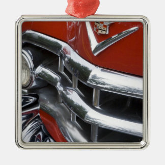 WA, Seattle, classic American automobile. 4 Christmas Ornament