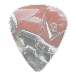 WA, Seattle, classic American automobile. Acetal Guitar Pick