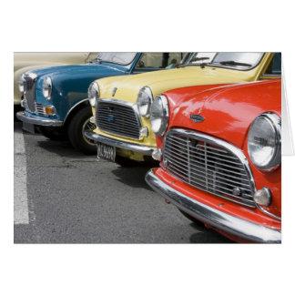 WA, Seattle, classic British automobile. Card