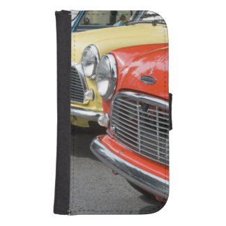 WA, Seattle, classic British automobile. Samsung S4 Wallet Case