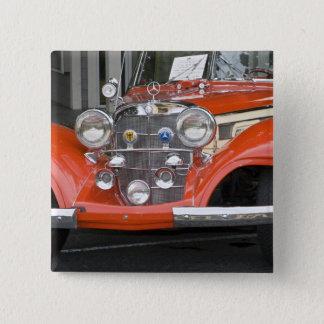 WA, Seattle, classic German automobile. 2 15 Cm Square Badge