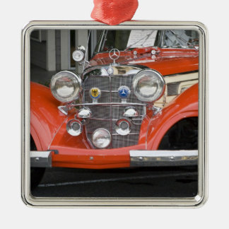 WA, Seattle, classic German automobile. 2 Christmas Ornament