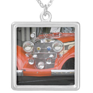 WA, Seattle, classic German automobile. 2 Silver Plated Necklace
