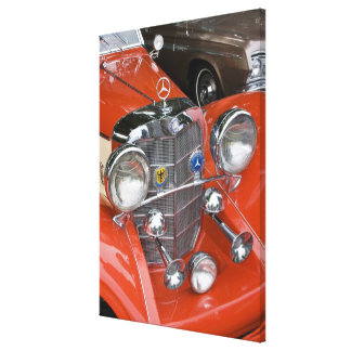 WA, Seattle, classic German automobile. Canvas Print