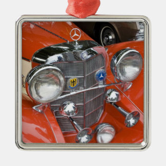 WA, Seattle, classic German automobile. Christmas Ornament