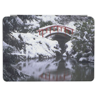 WA, Seattle, Moon bridge and pond after winter 2 iPad Air Cover
