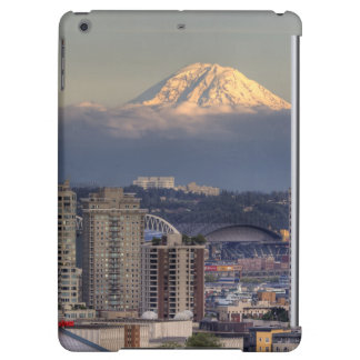WA, Seattle, Mount Rainier from Kerry Park Cover For iPad Air