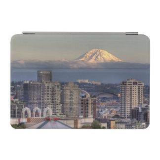 WA, Seattle, Mount Rainier from Kerry Park iPad Mini Cover