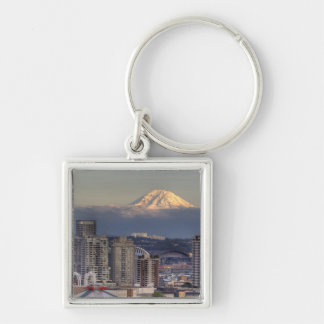 WA, Seattle, Mount Rainier from Kerry Park Key Ring