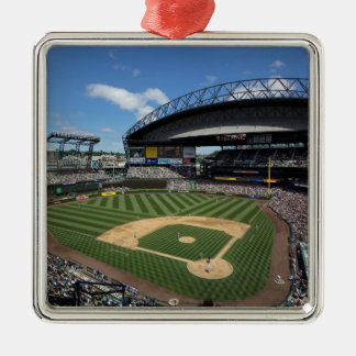 WA, Seattle, Safeco Field, Mariners baseball Christmas Ornament