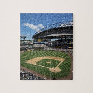 WA, Seattle, Safeco Field, Mariners baseball Jigsaw Puzzle