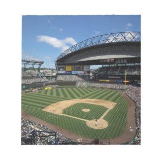 WA, Seattle, Safeco Field, Mariners baseball Notepad