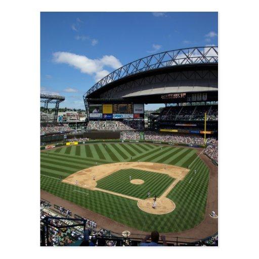 WA, Seattle, Safeco Field, Mariners baseball Post Card