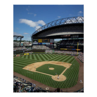 WA, Seattle, Safeco Field, Mariners baseball Poster