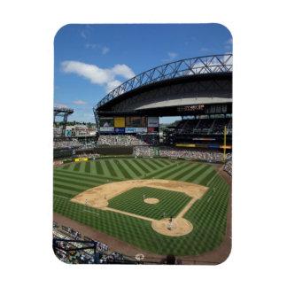 WA, Seattle, Safeco Field, Mariners baseball Rectangular Photo Magnet