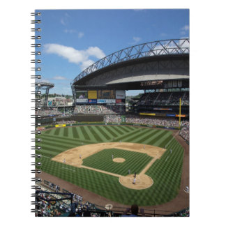 WA, Seattle, Safeco Field, Mariners baseball Spiral Note Book